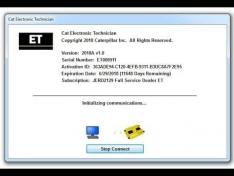 Caterpillar ET Electronic Technician 2019+Full Activated