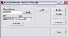 DAF / PACCAR DAVIE developer tool